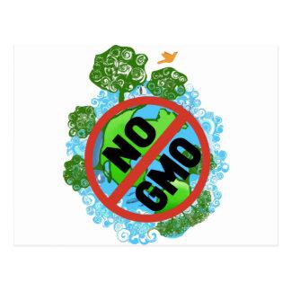 CARTE POSTALE AUCUN GMO