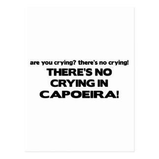 Carte Postale Aucun pleurer - Capoeira