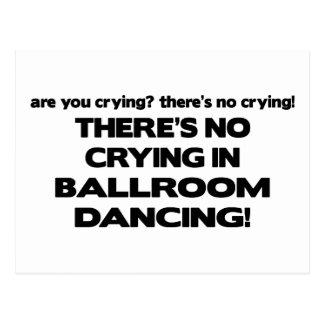 Carte Postale Aucun pleurer - danse de salon