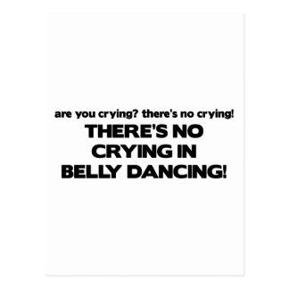 Carte Postale Aucun pleurer - danse du ventre