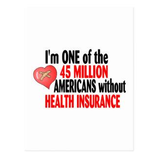 Carte Postale Aucune assurance maladie