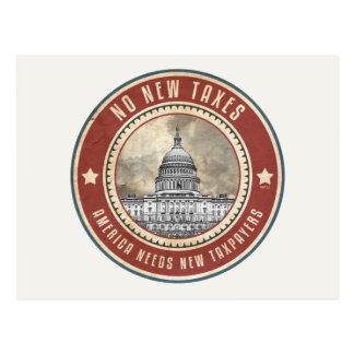 Carte Postale Aucuns nouveaux impôts