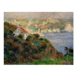 Carte Postale Auguste Renoir - brouillard sur Guernesey