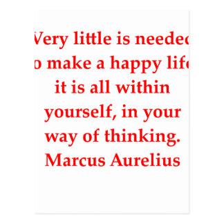 Carte Postale aurelius de Marcus