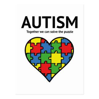 Carte Postale Autisme