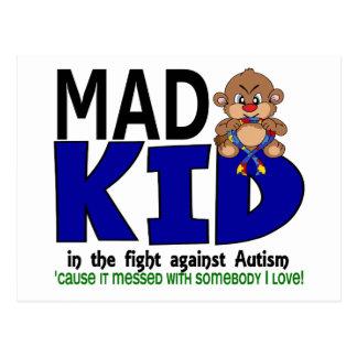 Carte Postale Autisme fol d'enfant