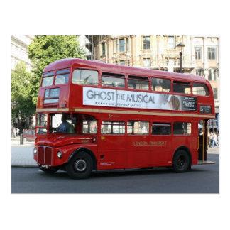 Carte Postale Autobus de Londres