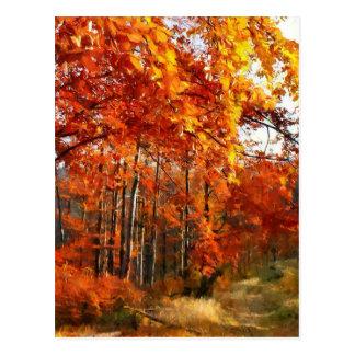 Carte Postale automne