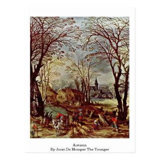 Carte Postale Automne par Joost De Momper The plus jeune