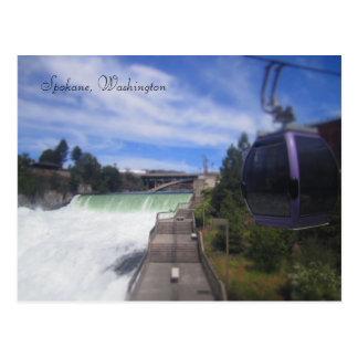 Carte Postale Automnes de Spokane