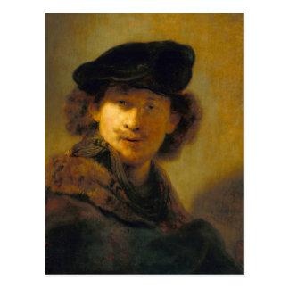 Carte Postale Autoportrait 2 de Rembrandt