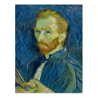 Carte Postale Autoportrait de Vincent van Gogh