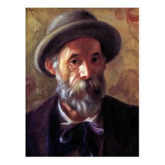 Carte Postale Autoportrait par Pierre Renoir