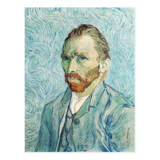 Carte Postale Autoportrait par Vincent van Gogh