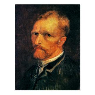 Carte Postale Autoportrait par Vincent van Gogh 1886