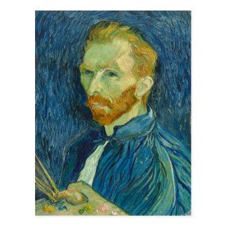 Carte Postale Autoportrait, Vincent van Gogh