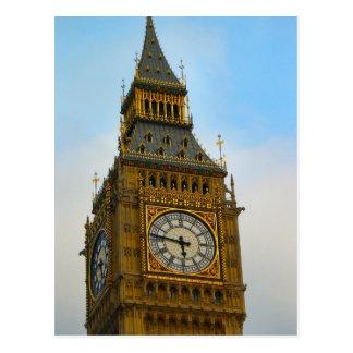 Carte Postale Autour de la Grande-Bretagne, Big Ben, tour