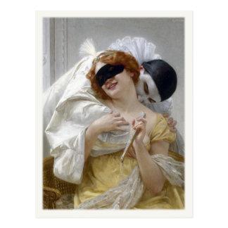 Carte postale avec la peinture de Guillaume
