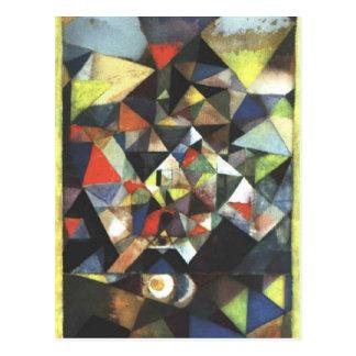 Carte Postale Avec l'oeuf par Paul Klee