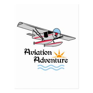 Carte Postale Aventure d'aviation