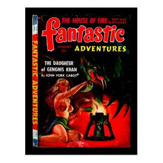 Carte Postale Aventures fantastiques v04 n01