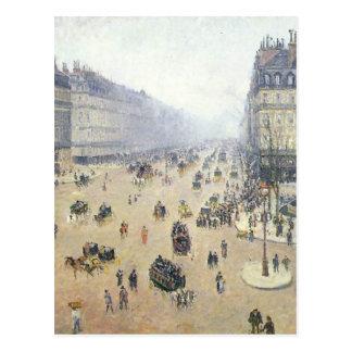 Carte Postale Avenue de l'Opera, Place du Theatre Francais