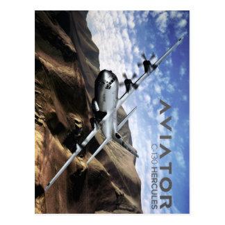 Carte Postale Avion de militaires de C-130 HERCULE