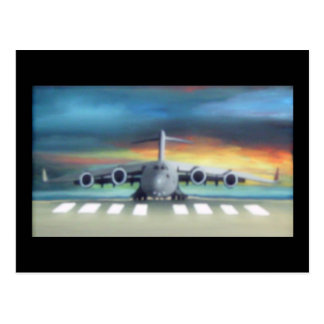 Carte Postale avion frais
