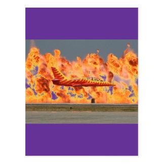Carte Postale Avions de sapeur-pompier