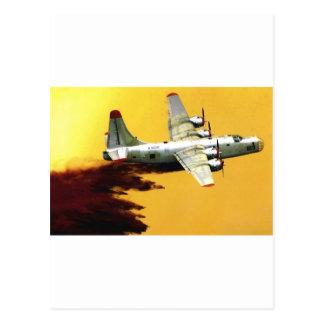Carte Postale Avions de sapeur-pompier de PBY