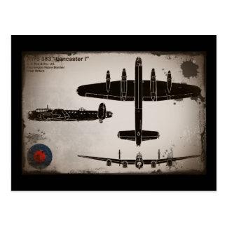 Carte Postale Avro 683 Lancaster 1