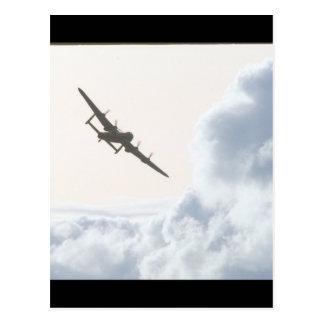Carte Postale Avro Lancaster/photographie royale d'Air_Aviation