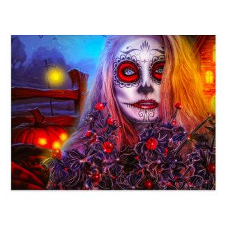 Carte Postale Ayez un Halloween éffrayant