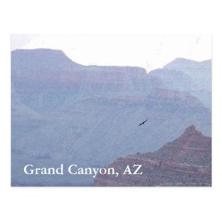 Carte postale AZ de l'Arizona Eagle de canyon