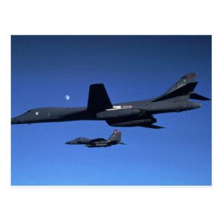 Carte Postale B-1 bombardier Lancer