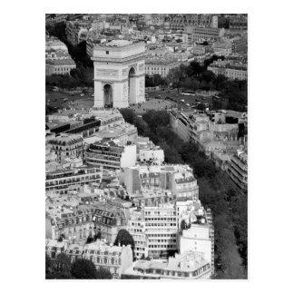Carte Postale B&W Arc de Triomphe