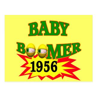Carte Postale Baby boomer 1956