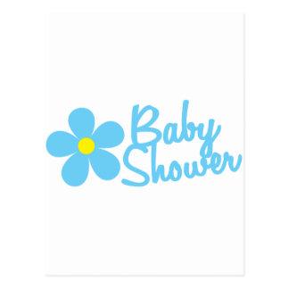 Carte Postale baby shower
