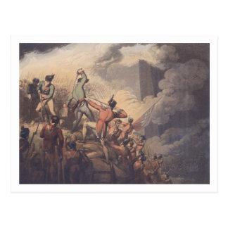 Carte Postale Badajoz, le 6 avril 1812, 'des victoires du Th