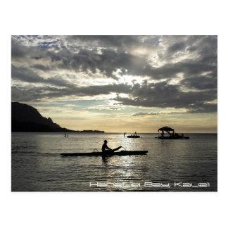 Carte Postale Baie de Hanalei, Kauai