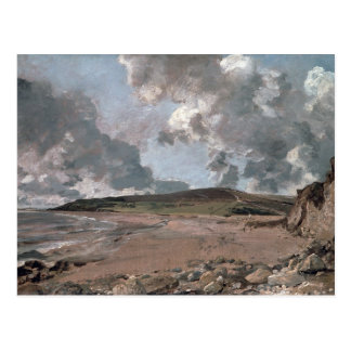 Carte Postale Baie de Weymouth avec la colline de la Jordanie,