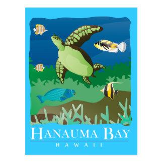 Carte Postale Baie Hawaï de Hanauma