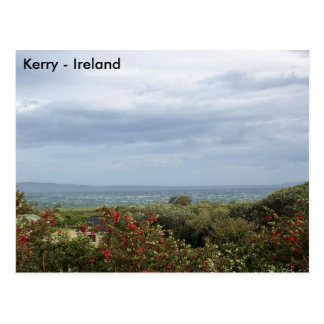 Carte Postale Baie orageuse de Tralee, Cie. Kerry, Irlande