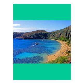 Carte Postale Baie profonde 3, Honolulu, Oahu, Hawaï de Hanauma