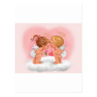 Carte Postale Baiser d'ange