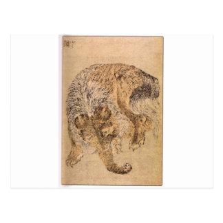 Carte Postale Bakou par Katsushika Hokusai