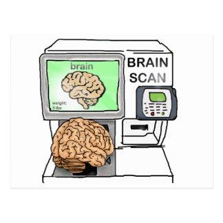 Carte Postale Balayage de cerveau