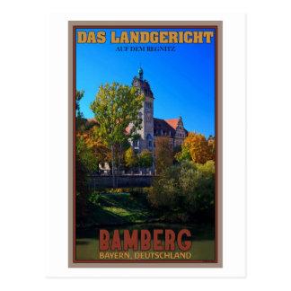 Carte Postale Bamberg - DAS Landgericht