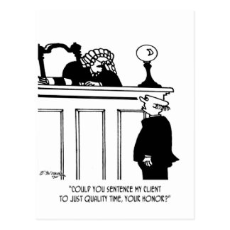 Carte Postale Bande dessinée 5298 d'avocat