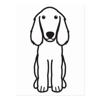 Carte Postale Bande dessinée de chien d'épagneul de Boykin